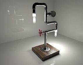 Steampunk Lamp 3D printable model