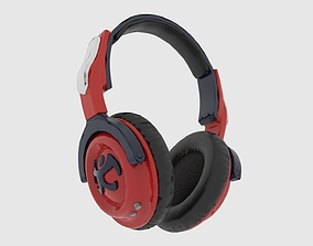 3D asset VR / AR ready Headphone mapping
