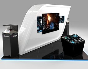 3D Stand for technology company in events