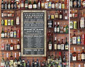 Big Alcoholic Bar 3D