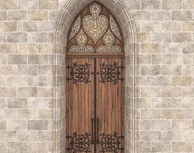 3D Gothic Door