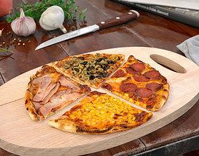 3D model pizza 37 AM151