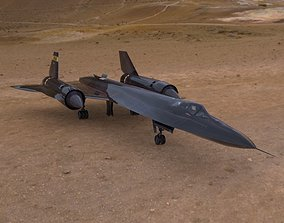 SR-71 Spyplane in 3ds and obj formats