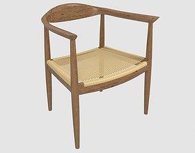 3D Wegner Inspired Kennedy Arm Chair