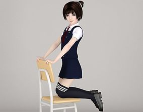 Eri various outfit pose 03 3D overall