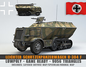 Low Poly U 304 F Leichter 3D model