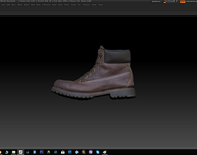 scan VR / AR ready Boot 3D model
