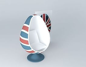 3D model UK the seat shell houses the world