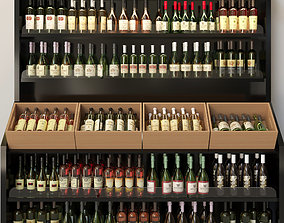 Wine showcase 3D