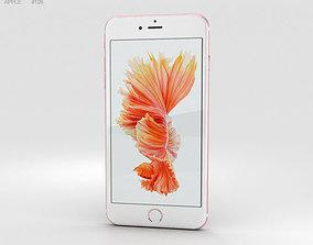 3D model Apple iPhone 6s Plus Rose Gold