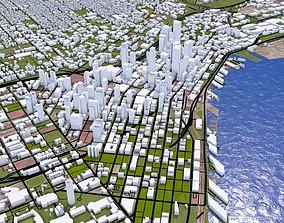 Seattle City Of USA 3D asset