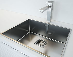 Fulgor Milano Plano Kitchen Sink 3D model