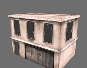 3D model realtime Abandoned Building 02