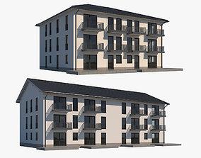 Apartment Building Collection 3D