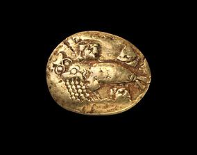 3D model Phocaean Electrum Coin