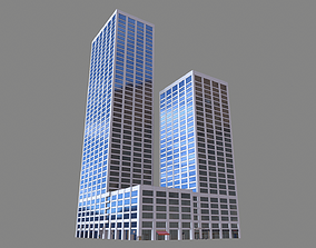 55 Spear Street Building San Francisco 3D model