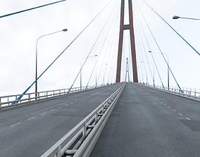 parking 3D asset VR / AR ready bridge