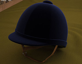 3D model Riding Helmet