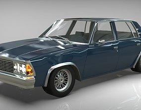 3D model Chevrolet Malibu 1981 lowpoly
