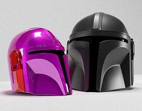 Mandalorian Helmet guild 3D printable model