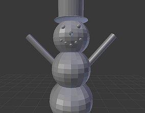 3D printable model toys Snowman
