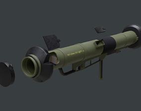 M90 Strsljen Rocket Launcher 3D model