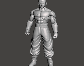 Tien Shinhan Saiyan Saga 3D Model