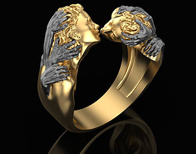 Ring of Romeo and Juliet 3D print model