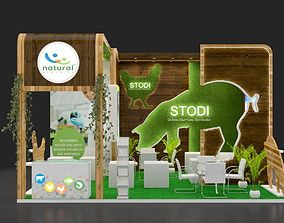 booth sell 3D Exhibition stall