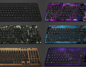 3D asset Keyboard 4K