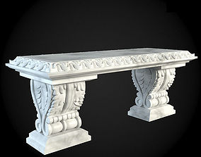 Bench design 3D model