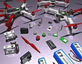 3D model Multicopters Pack