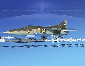 Mig 23 Flogger B V24 India 3D