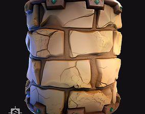 Stylized Desert Bricks - Substance Designer Graph 3D