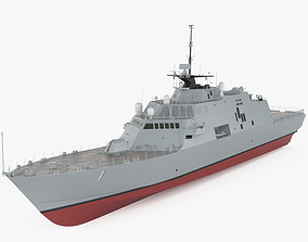 USS Freedom LCS-1 3D model