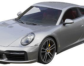 3D Porsche 911 Turbo S 2021