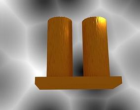 2 Cylinder Vase 3D print model