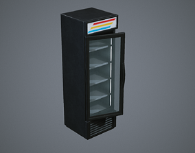 3D asset Industrial Fridge or Freezer
