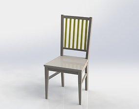 beech chair 3D model