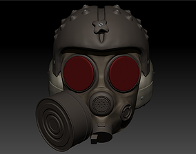 Spartan Helmet Metro Exodus 3D printable model