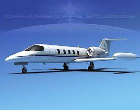 3D Gates Bombardier Learjet 35 V07