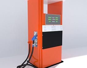 Fuel Bowser and Pump 3D