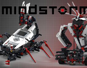 LEGO set 31313 - Mindstorms EV3 3D model