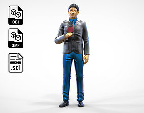 N1 Reporter with Uniform is Reporting 3D printable model