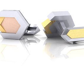 Strict Cufflinks 3D print model