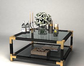 COFFEE TABLE ROYALTON Eichholtz 3D interior