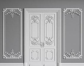 Classic Interior Walls 3D model