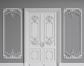 3D model Classic Interior Walls