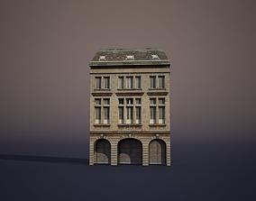 3D asset Apartment House city-block