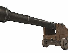 Cannon 8 3D model